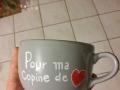 Mug Copine de coeur2